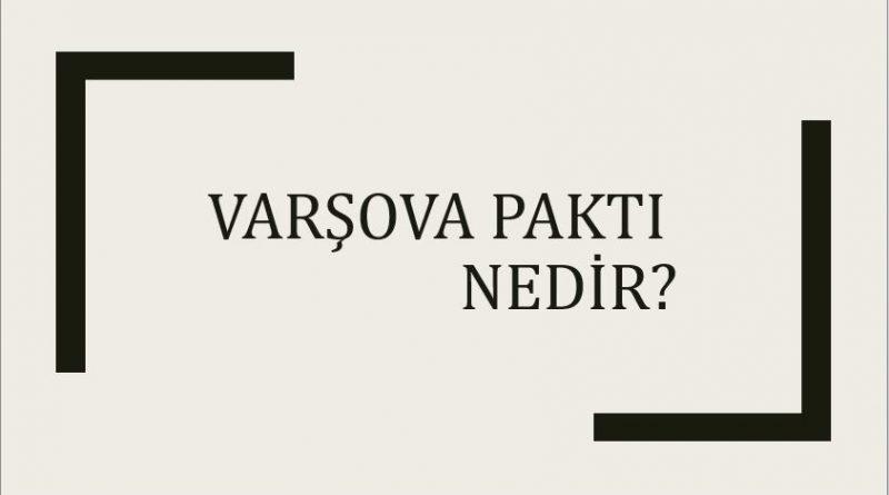 varşova paktı